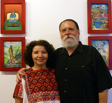 Larson Publications photo of author Martha Ramirez-Oropeza and William Douglas Horden